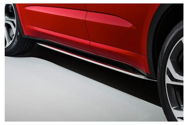 Jaguar E-Pace Bright Finish Side Tubes